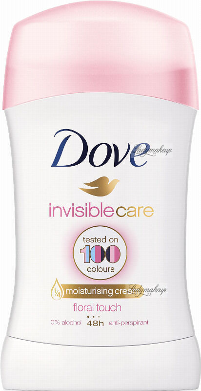 Dove - Invisiblecare - Floral Touch - 48h Anti-Perspirant - Antyperspirant w sztyfcie - 40 ml