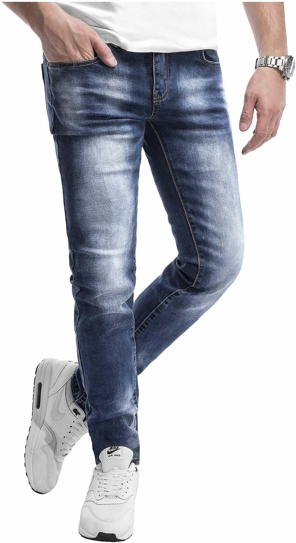Spodnie jeansowe męskie 2082