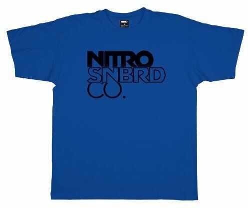 Nitro Workmark męski T-shirt z dużym stosem niebieski prawdziwy niebieski rozmiar: M