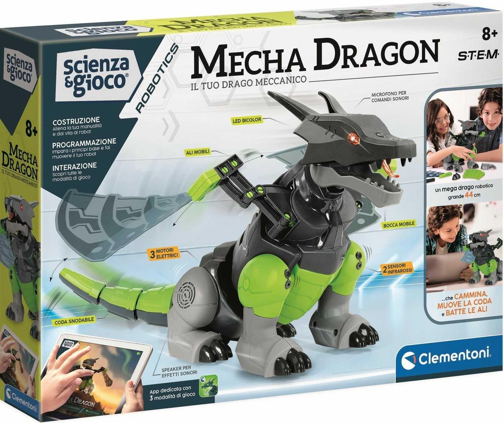 Clementoni - Robot Smok Mecha Dragon 50682