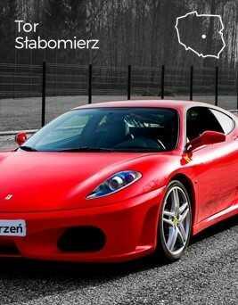 Jazda za kierownicą Ferrari F430  Tor Słabomierz