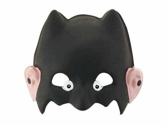Maska piankowa Nietoperz - 1 szt.