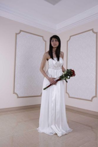 FSS568 Suknie Ślubne Suknia EKRI