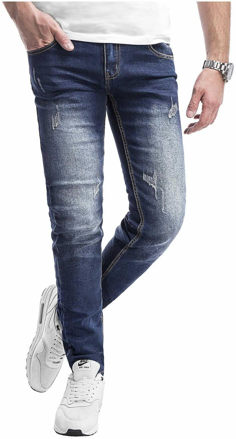 Spodnie jeansowe męskie 2078