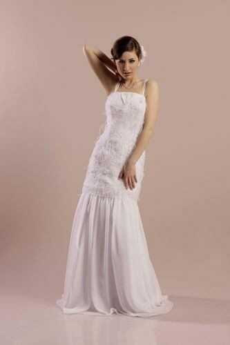FSS570 Suknie Ślubne Suknia BIAŁY