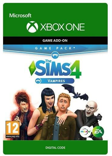 The Sims 4 - Wampiry DLC [kod aktywacyjny] Xbox One
