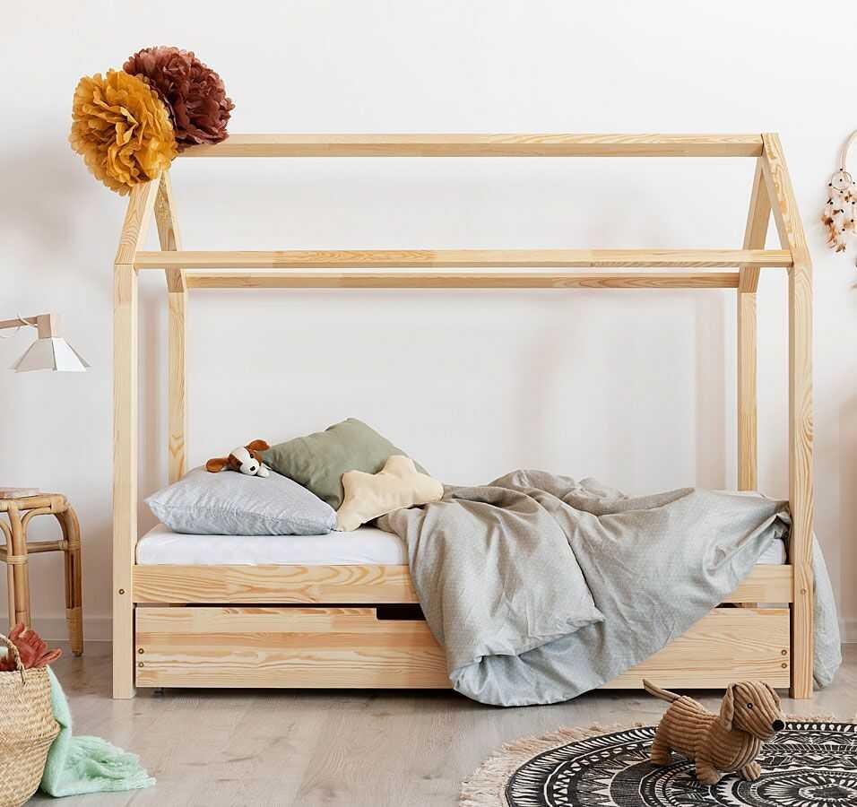 Łóżko domek z szufladą Miles 14X - 23 rozmiary