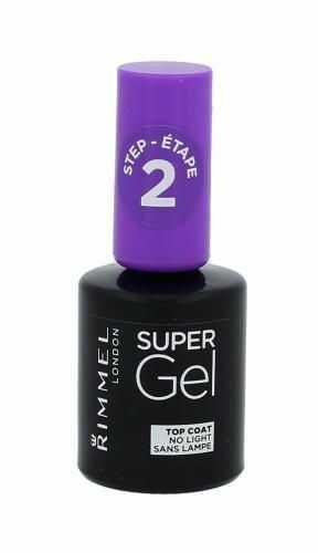 Rimmel London Super Gel Top Coat lakier do paznokci 12 ml dla kobiet