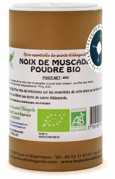 Przyprawy i zioła - Gałka muszkatołowa 40g Bio*, - 50007