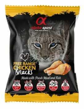Alpha Spirit Przysmak w Kostce z Kurczakiem dla Kota 50 g
