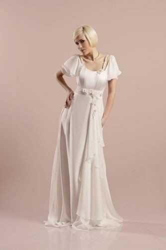 FSS571 Suknie Ślubne Suknia EKRI