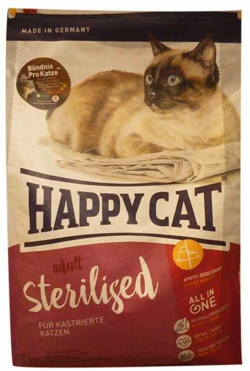 Happy Cat Sterilised Łosoś Atlantycki 1,4kg