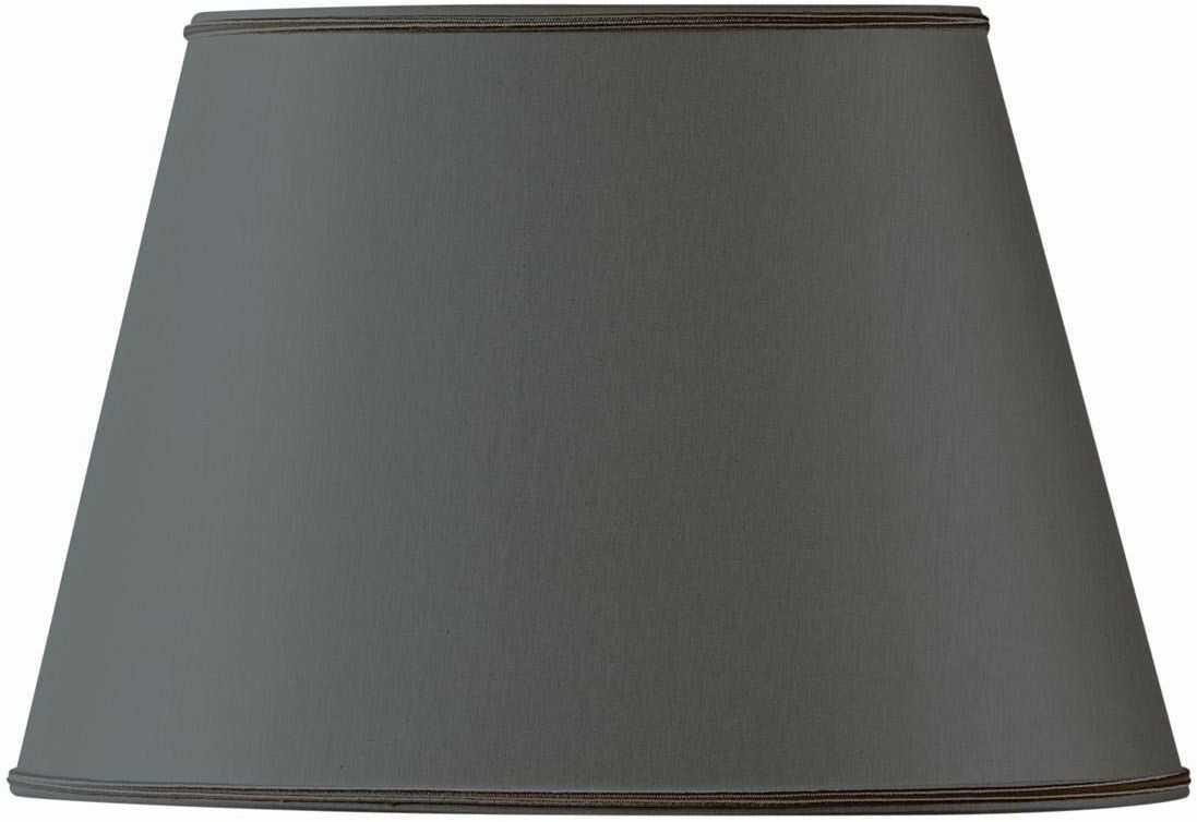 Klosz lampy owalny, średnica 35 x 24,5 cm, 21,5 x 15 cm, czarny