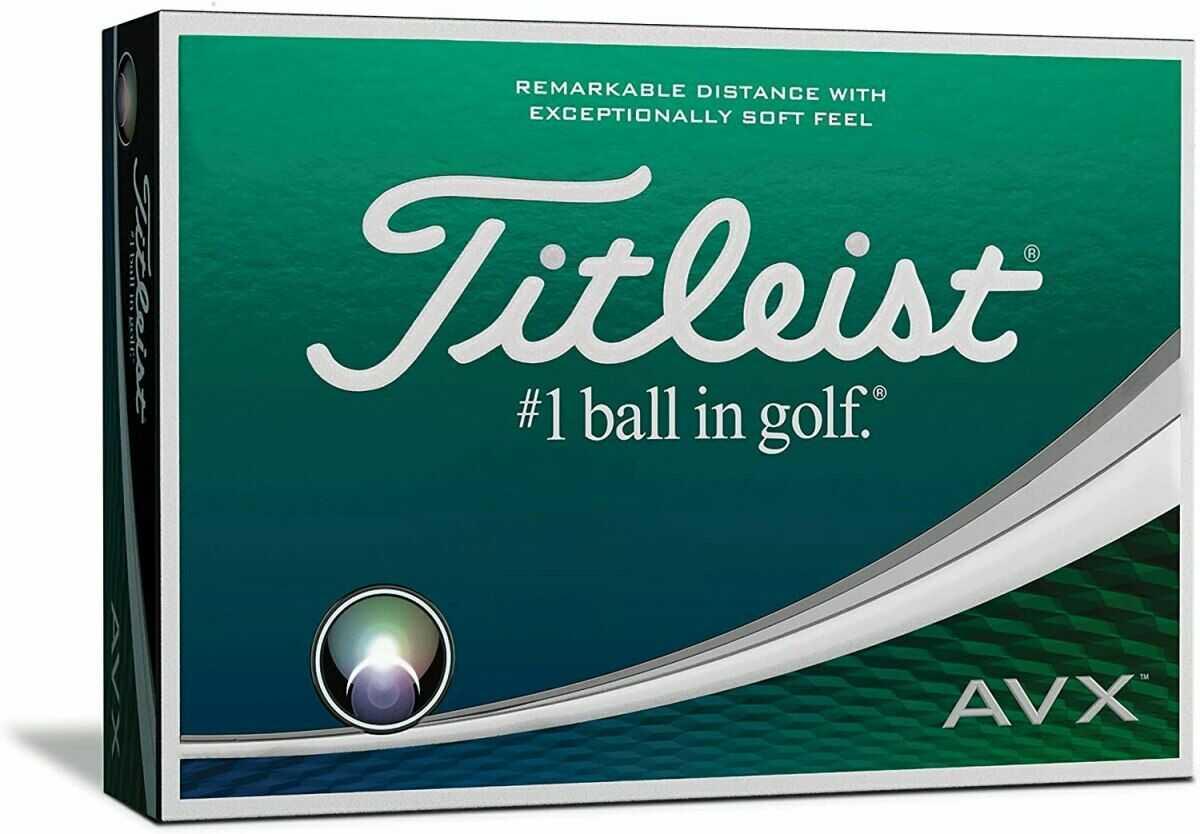 Piłki golfowe TITLEIST AVX (białe)