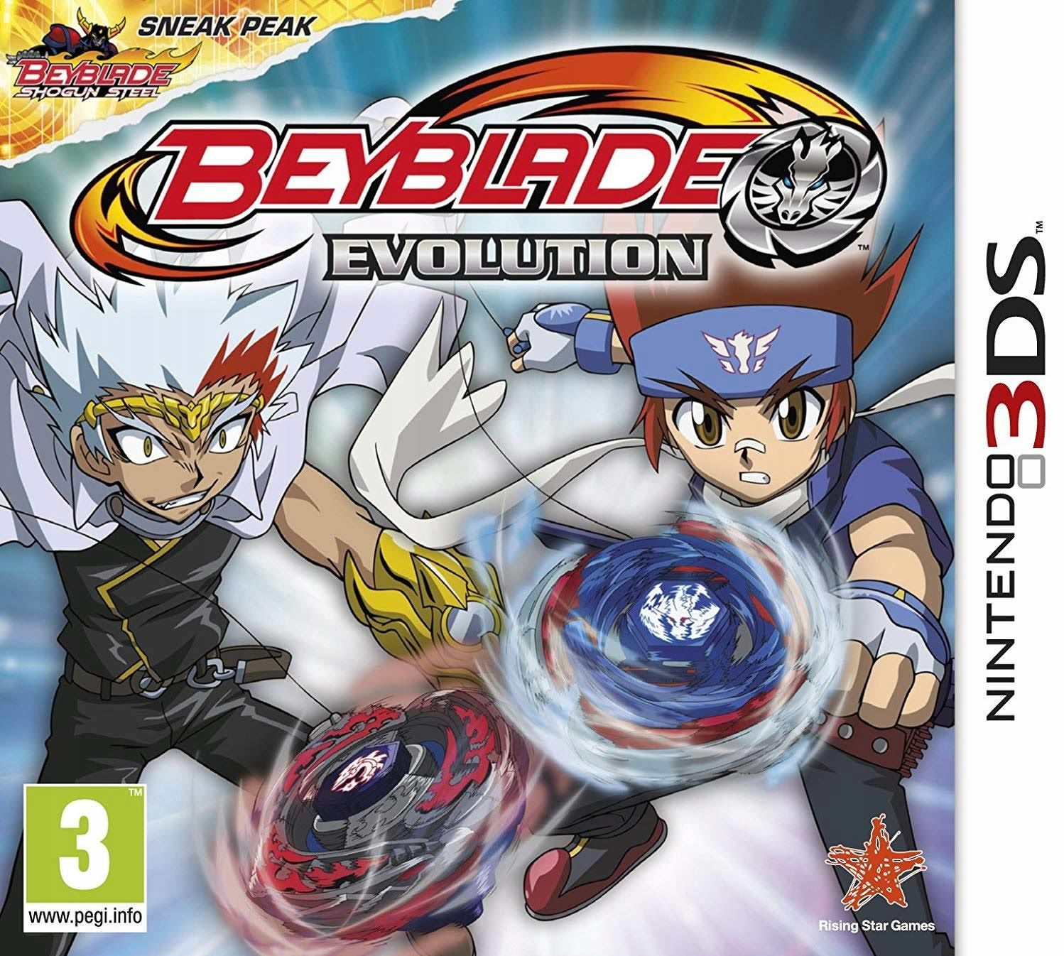 Gra Beyblade Evolution (Nintendo 3DS)