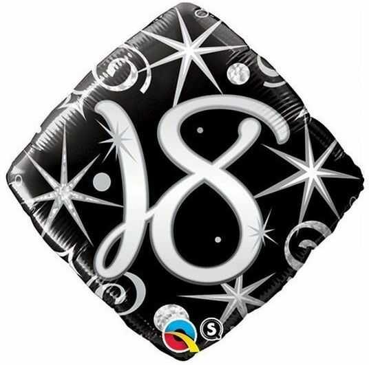Balon foliowy 18 romb 45 cm 29993
