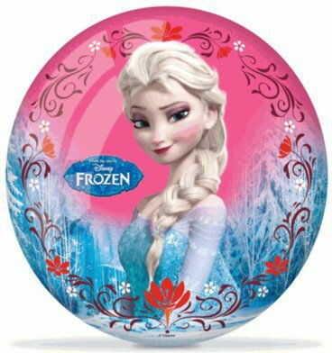 Gumowa Kolorowa Piłka Kraina Lodu Frozen Elsa Anna Mondo 23 cm