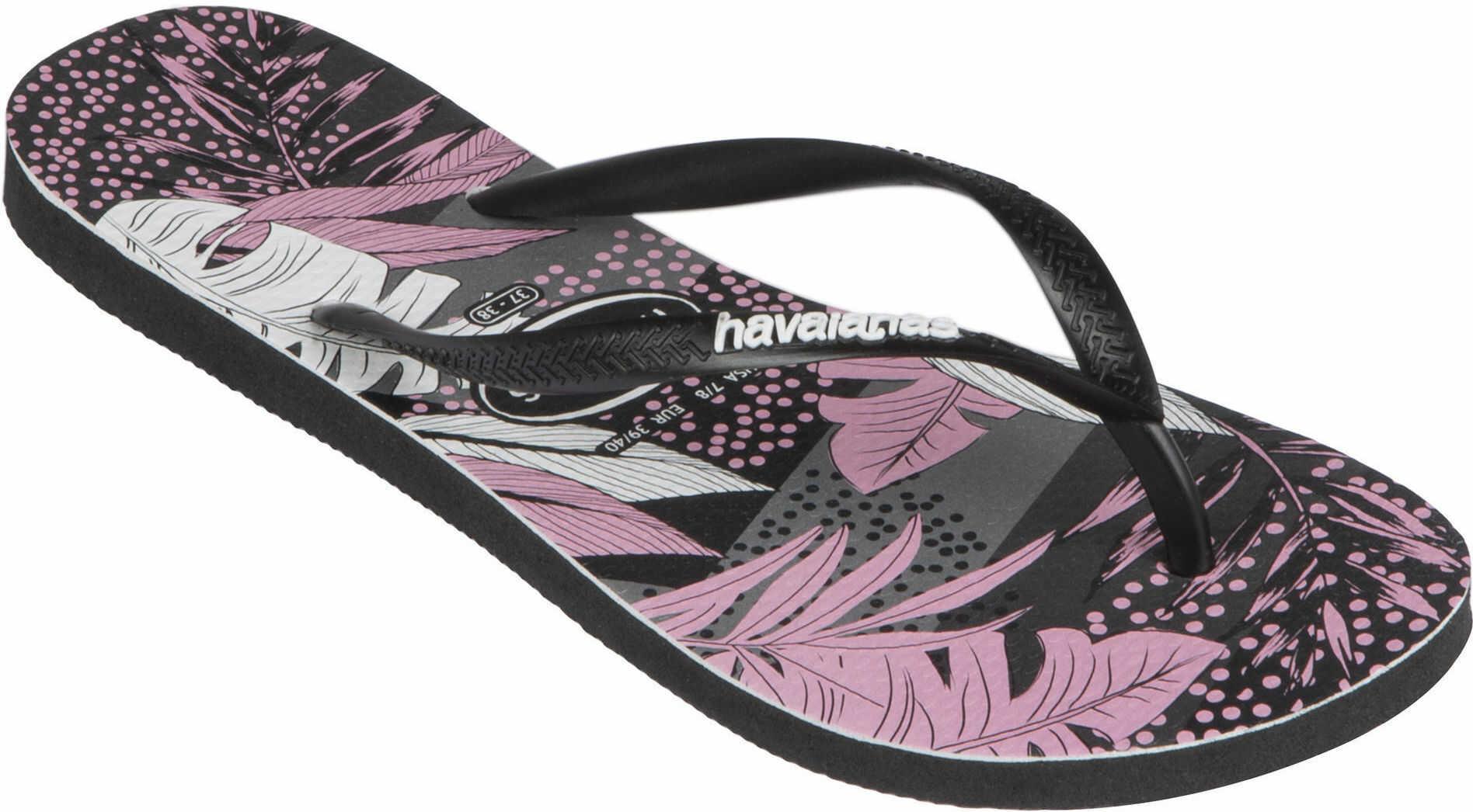 Japonki SLIM Surf Floral damskie