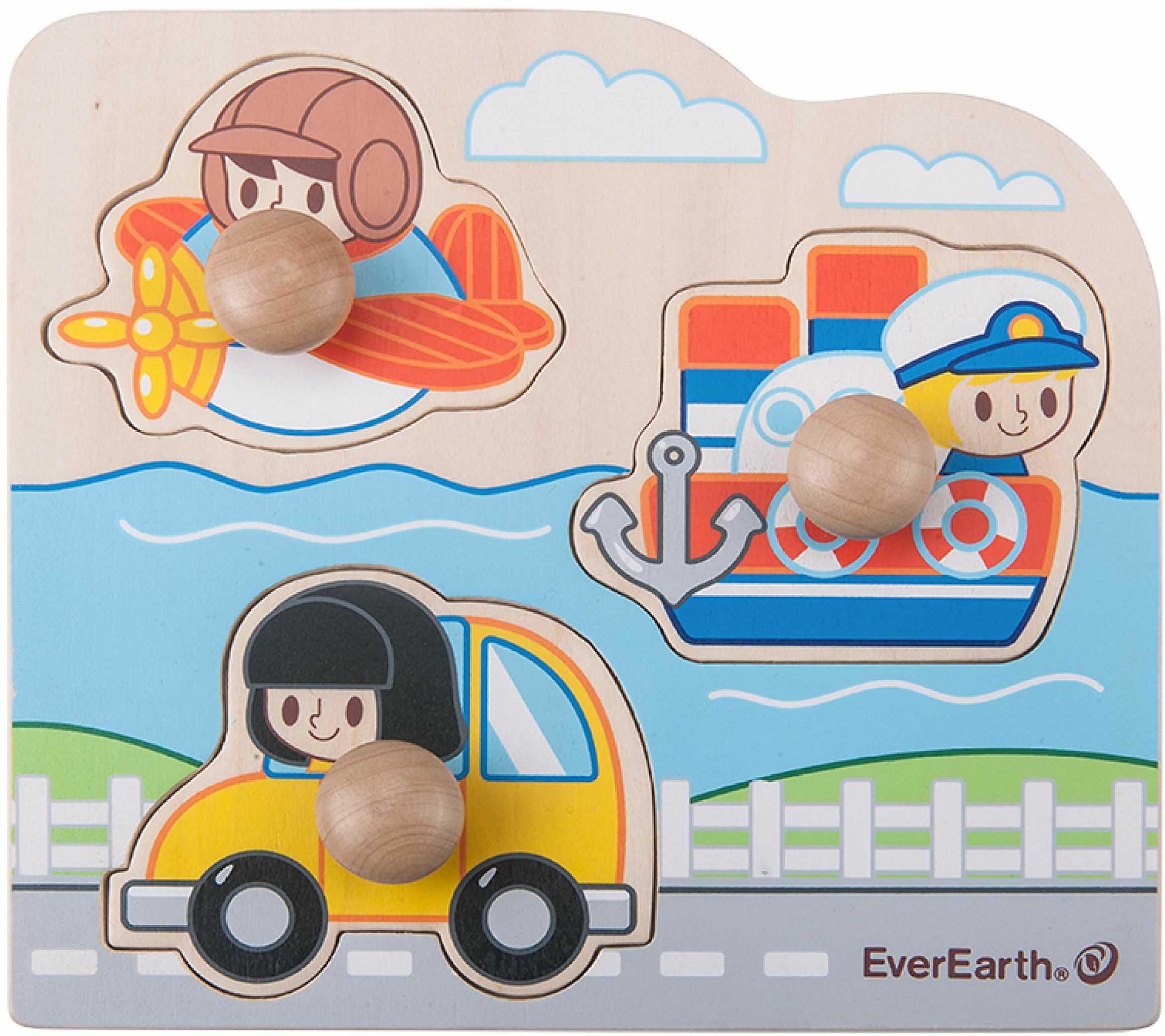 "EverEarth - puzzle""środek transportu"" (EE33734)"