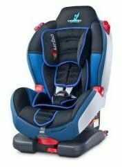 Caretero fotelik samochodowy sport turbo fix 9-25 kg graphite