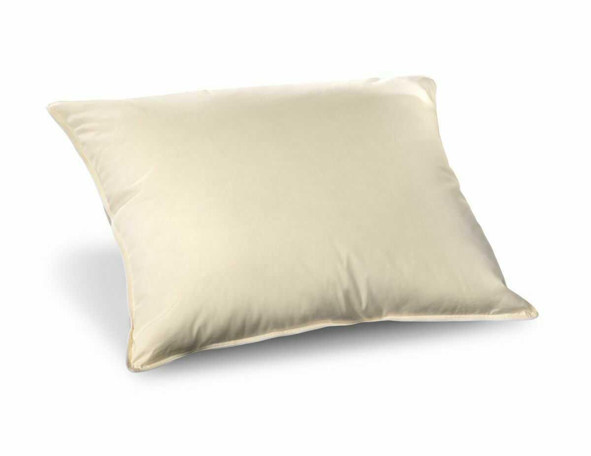 Poduszka półpuchowa 70x80 ekri 2,0 kg naturalny wsad 100% bawełna Inlet AMW