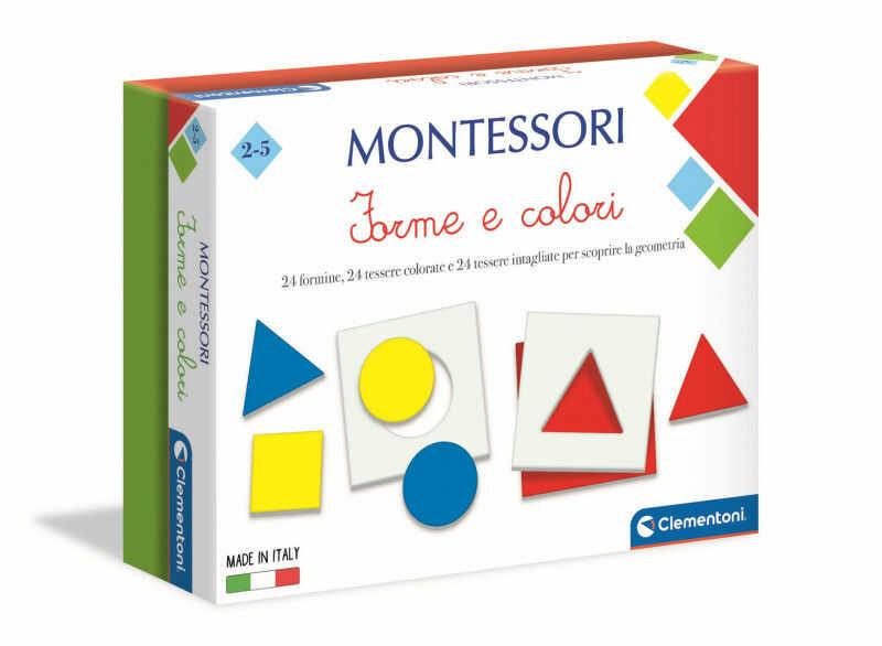 Clementoni Montessori Kształty i kolory 50692 ZAKŁADKA DO KSIĄŻEK GRATIS DO KAŻDEGO ZAMÓWIENIA