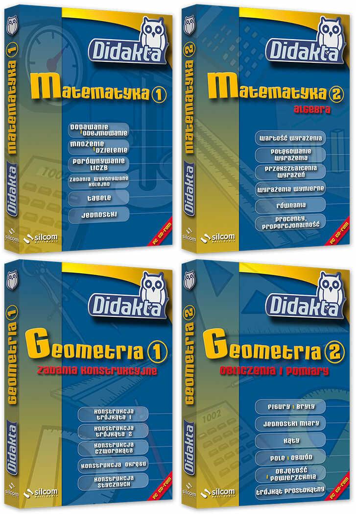 Pakiet Didakta Matematyka (szkoła podstawowa)