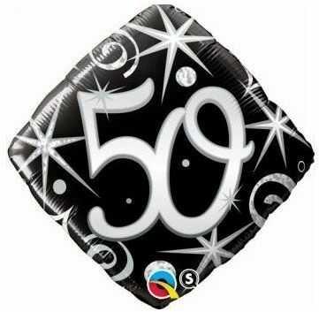 Balon foliowy 50 romb 45 cm 30017