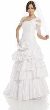 FSS587 Suknie Ślubne Suknia BIAŁY