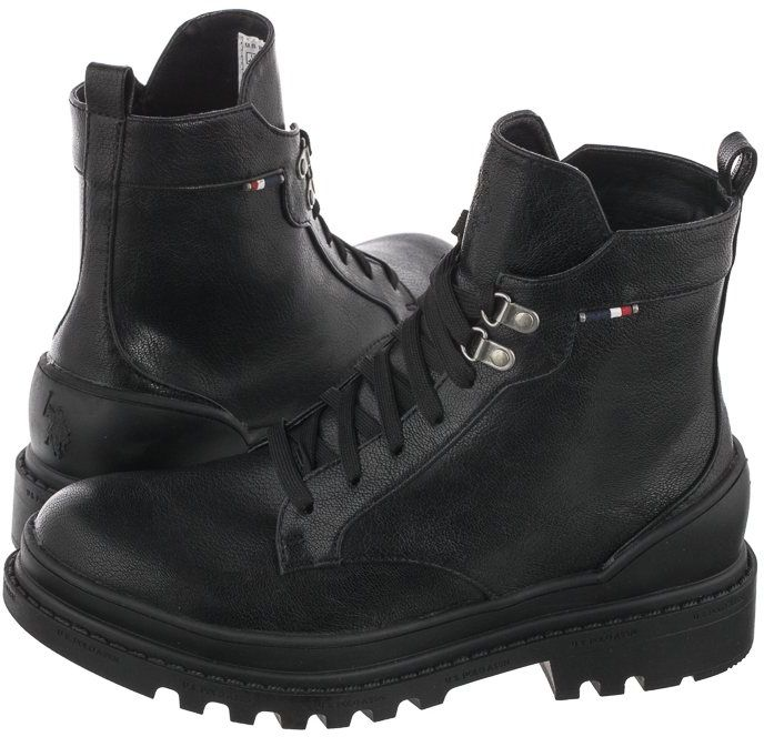 Workery U.S. Polo Assn. Praga Club-Blk BRUNA4074W0/Y1 (US50-a)