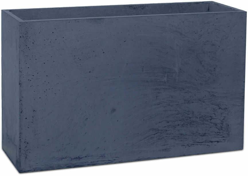 Donica betonowa LINEA M 60x22x40 grafitowy