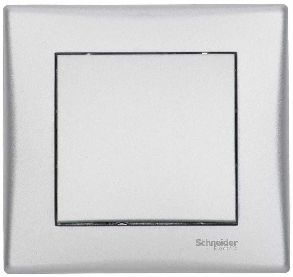 Włącznik pojedynczy SEDNA Srebrny aluminowy SCHNEIDER