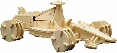 Siva Toys Siva Toys850/8 Woodconstruction Formula 1 samochód wyścigowy, wielokolorowa