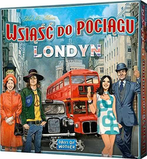 Gra planszowa Wsiąść do Pociągu: Londyn