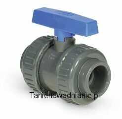 Zawór Kulowy - klejony BVD 20mm PCV-U