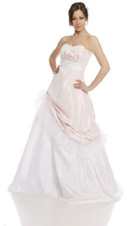 FSS588 Suknie Ślubne Suknia BIAŁY