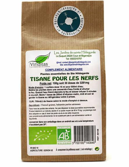 Przyprawy i zioła - Herbatka balsamiczna na nerwy 100g Bio, - 60138