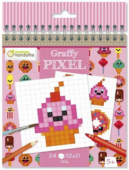 Avenue Mandarine-Graffy Pixel, GY099C Nintendo karta pamięci