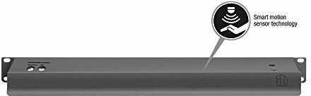 """Adam Hall 87451 SMART - 19"""" oświetlenie szafy rack z czujnikiem ruchu, LED Sensor Rack Light 1 U white"""