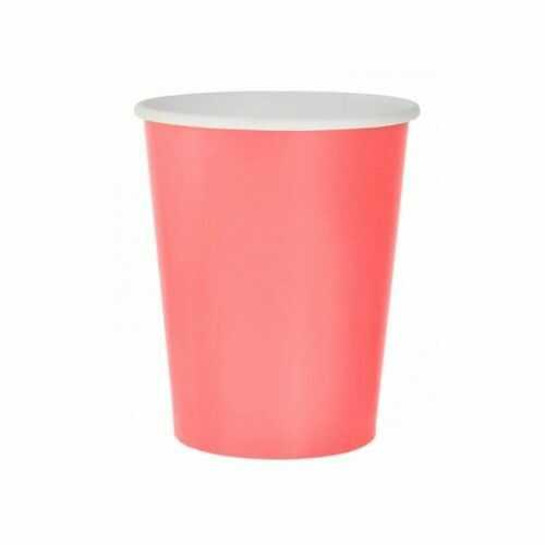 Kubeczki Pastelowe Party, różowe, 14 szt.