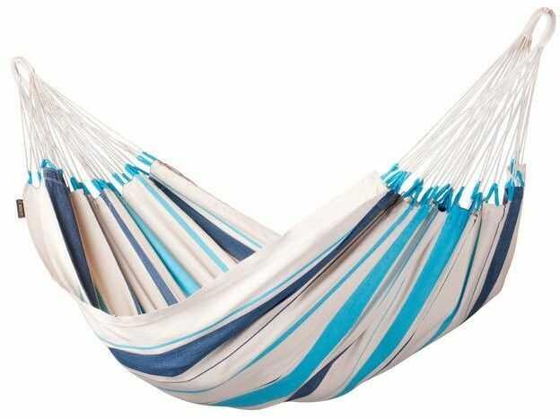 Lasiesta - caribena - hamak pojedynczy - aqua blue