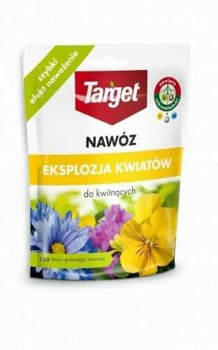 Nawóz do roślin kwitnących  eksplozja kwiatów  150 g target