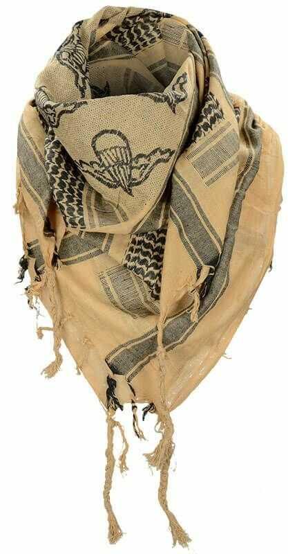 Mil-Tec Chusta Arafatka Paratrooper Coyote