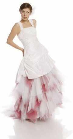 FSS591 Suknie Ślubne Suknia BIAŁY