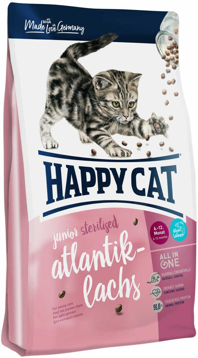 Happy Cat Sterilised Łosoś Atlantycki 300g