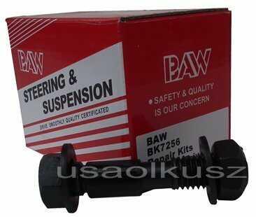 Śruba regulacji kąta pochylenia koła Dodge Caravan 1996-