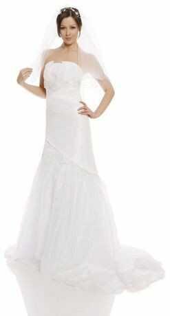 FSS593 Suknie Ślubne Suknia BIAŁY