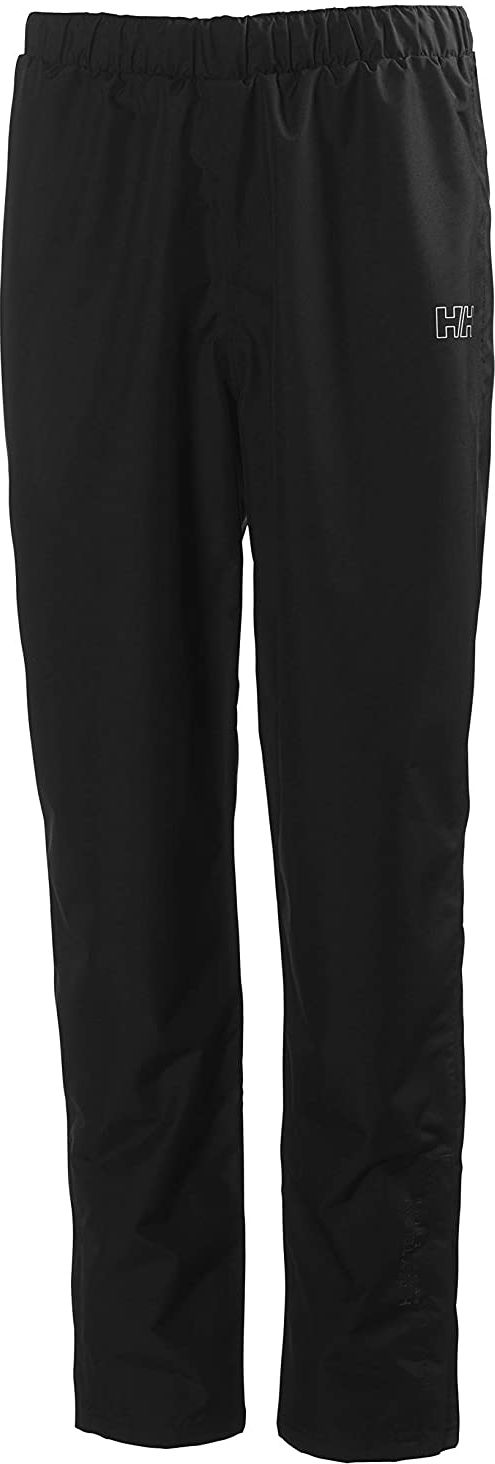 Helly Hansen W SEVEN J PANT damskie spodnie wodoszczelne, czarne, L