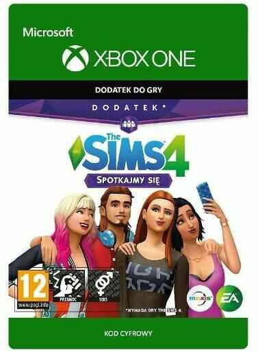 The Sims 4 - Spotkajmy Się [kod aktywacyjny] Xbox One Dostęp po opłaceniu zakupu