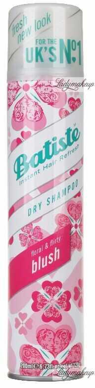 Batiste - Dry Shampoo - BLUSH - Suchy szampon do włosów - 200 ml